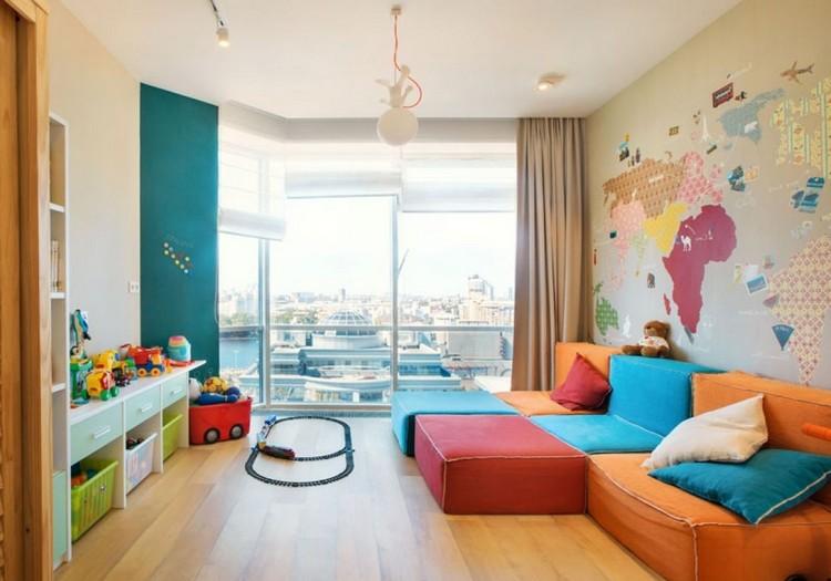 Семейная гостиная: интерьер для детей и взрослых (25 фото)